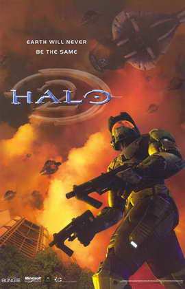 Halo 2 - 11 x 17 Video Game Poster - Style A