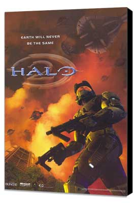 Halo 2 - 11 x 17 Video Game Poster - Style A - Museum Wrapped Canvas