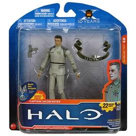 Halo 2 - Anniversary Series 2 Captain Jacob Keyes Action Figure
