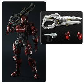 Halo 2 - 4 Spartan Soldier Play Arts Kai Action Figure