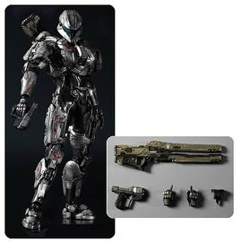 Halo 2 - 4 Spartan Sarah Palmer Play Arts Kai Action Figure