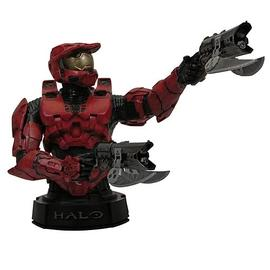 Halo 2 - 3 Red Master Chief Mini-Bust