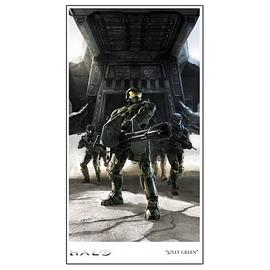 Halo 2 - Jolly Green Limited Edition Paper Giclee Print