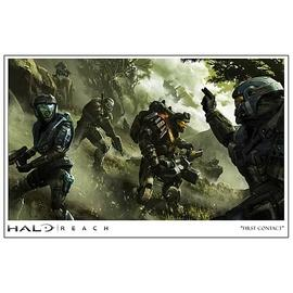 Halo 2 - Reach First Contact Paper Giclee Print
