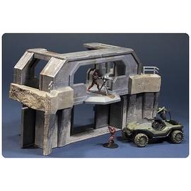 Halo 2 - Micro Ops  High Ground Gate, Warthog & Spartan Figures