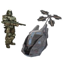 Halo 2 - Universe ODST Drop Pod Deluxe Vehicle