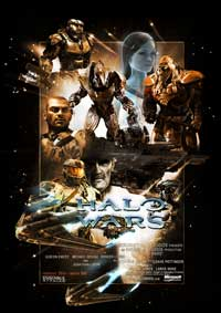Halo Wars - 43 x 62 Video Game Poster - Style A