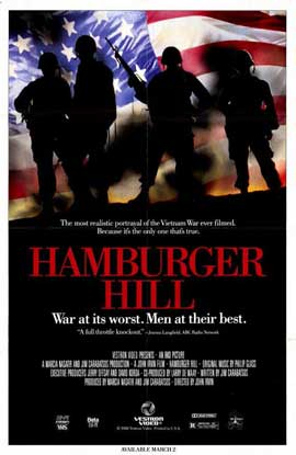 Hamburger Hill - 11 x 17 Movie Poster - Style A