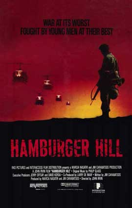Hamburger Hill - 11 x 17 Movie Poster - Style B
