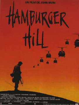 Hamburger Hill - 11 x 17 Movie Poster - French Style A