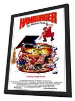 Hamburger. . .The Motion Picture - 11 x 17 Movie Poster - Style B - in Deluxe Wood Frame