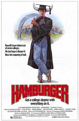 Hamburger. . .The Motion Picture - 11 x 17 Movie Poster - Style A