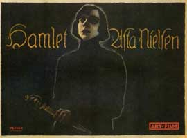 Hamlet - 11 x 14 Poster German Style A