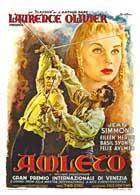 Hamlet - 27 x 40 Movie Poster - Italian Style A