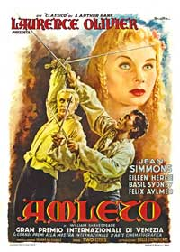 Hamlet - 27 x 40 Movie Poster - Spanish Style A