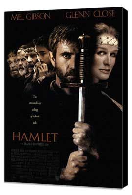 Hamlet - 27 x 40 Movie Poster - Style A - Museum Wrapped Canvas
