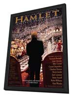Hamlet - 11 x 17 Movie Poster - Style A - in Deluxe Wood Frame