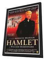 Hamlet - 11 x 17 Movie Poster - Style B - in Deluxe Wood Frame