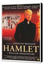 Hamlet - 11 x 17 Movie Poster - Style B - Museum Wrapped Canvas
