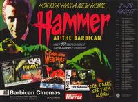 Hammer Film Productions Limited - 30 x 40 Movie Poster - Style A
