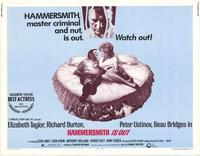 Hammersmith Is Out - 11 x 14 Movie Poster - Style A