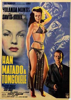 Han matado a Tongolele - 11 x 17 Movie Poster - Swedish Style I