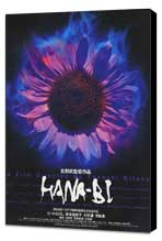 Hana-bi - 27 x 40 Movie Poster - Japanese Style B - Museum Wrapped Canvas