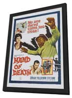 Hand of Death - 11 x 17 Movie Poster - Style A - in Deluxe Wood Frame