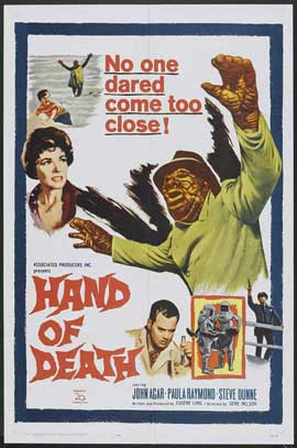 Hand of Death - 11 x 17 Movie Poster - Style A