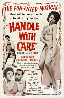 Handle With Care - 11 x 17 Movie Poster - Style A