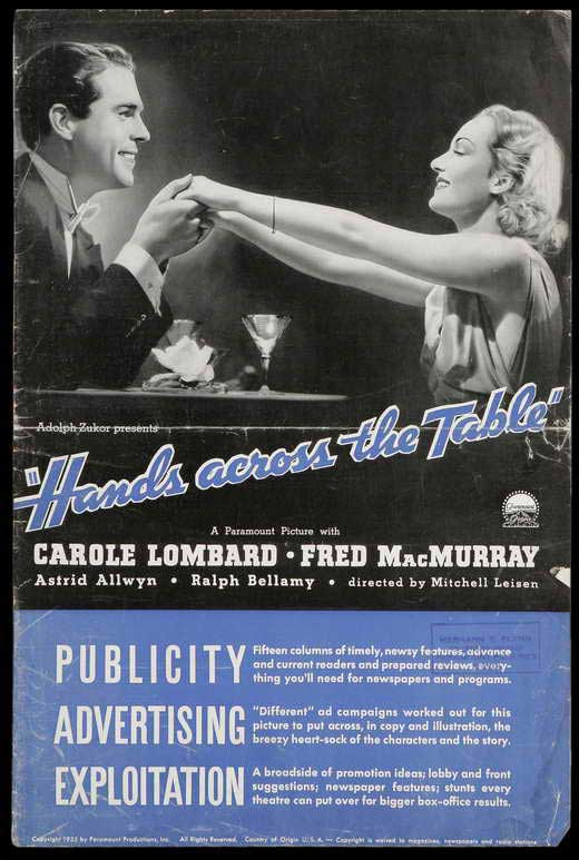 Hands Across the Table movie