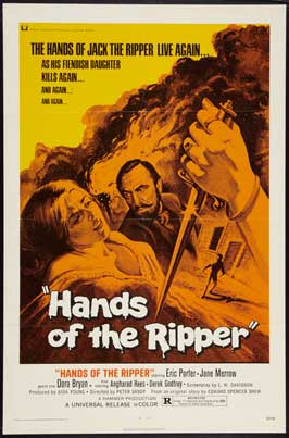 Hands of the Ripper - 11 x 17 Movie Poster - UK Style A