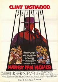 Hang 'Em High - 11 x 17 Movie Poster - German Style A