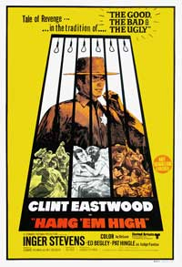 Hang 'Em High - 43 x 62 Movie Poster - Australian Style A
