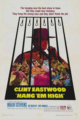 Hang 'Em High - 27 x 40 Movie Poster - Style B