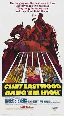 Hang 'Em High - 27 x 40 Movie Poster - Style C