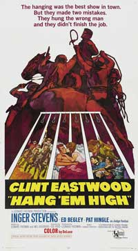 Hang 'Em High - 43 x 62 Movie Poster - Bus Shelter Style B