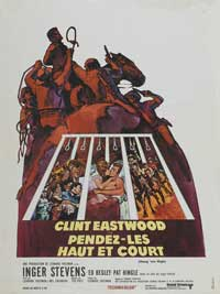 Hang 'Em High - 27 x 40 Movie Poster - French Style A