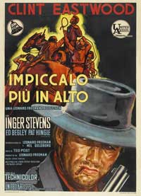 Hang 'Em High - 43 x 62 Movie Poster - Italian Style A