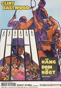 Hang 'Em High - 27 x 40 Movie Poster - Swedish Style A