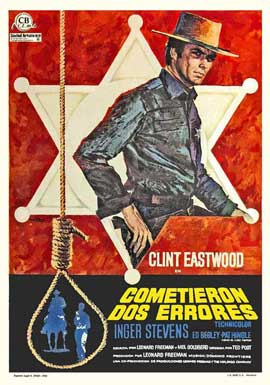 Hang 'Em High - 11 x 17 Movie Poster - Spanish Style A