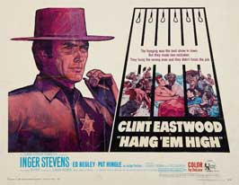Hang 'Em High - 11 x 14 Movie Poster - Style C