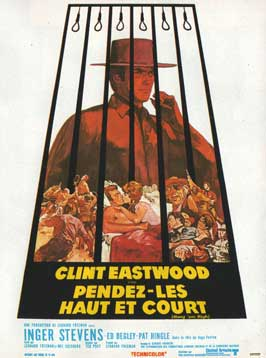 Hang 'Em High - 11 x 17 Movie Poster - French Style B