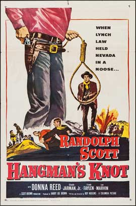 Hangman's Knot - 11 x 17 Movie Poster - Style B