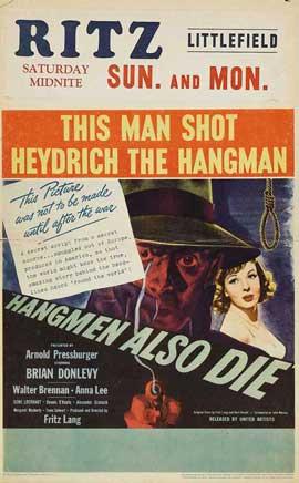 Hangmen Also Die - 11 x 17 Movie Poster - Style B