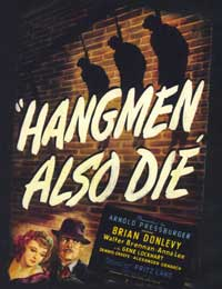 Hangmen Also Die - 27 x 40 Movie Poster - Style A