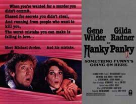 Hanky Panky - 11 x 14 Movie Poster - Style A