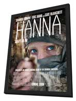 Hanna - 27 x 40 Movie Poster - Style A - in Deluxe Wood Frame