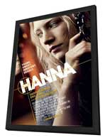 Hanna - 27 x 40 Movie Poster - Style C - in Deluxe Wood Frame