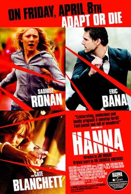 Hanna - 27 x 40 Movie Poster - Style E